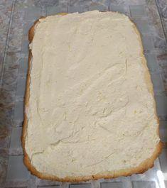 - Zitronen Schnitten Pie, Bread, Desserts, Food, Sheet Cakes, Home Made, Dessert Ideas, Food And Drinks, Torte