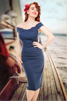 Collectif Clothing Eloise Pencil Dress 14742 !