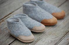 WoolyBaby leather + wool shoes @Domonique Washington McNish Washington McNish