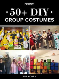 57 Creative Homemade Group Costume Ideas