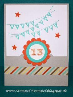 Stempel-Exempel: Geburtstag