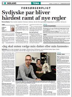 December 2013: En rigtig god casehistorie gør noget så usexet som 'gensidig forsørgerpligt' til en af de mest klikkede historier på jv.dk i 2013.