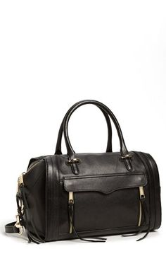 Rebecca Minkoff 'Darcy' Leather Satchel (Nordstrom Exclusive) available at #Nordstrom