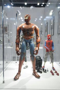 Marvel Comics × ThreeA's Spiderman Figures