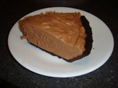 No bake chocolate cheesecake....made 9/28/13. I used it as a filling for cupcakes, easy and tastes great!