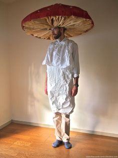 The Cardboard Collective: cardboard mushroom costume
