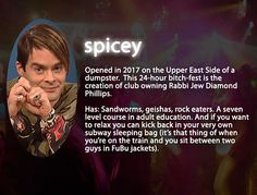 Saturday Night Live: Stefon's Club Guide #SNL