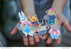 DIY Finger Puppets | Photography and Design by Lia Griffith