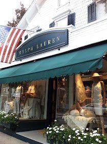 Beautiful, classic Ralph Lauren store in Southampton San Tropez, Ralph Lauren Store, Shop Fronts, Store Displays, Southampton, The Hamptons, New England, Around The Worlds, Stucco Exterior