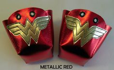Wonder Woman toe guards for roller derby. I would so wear these if I was still skating.