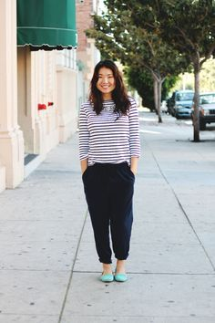 15 Weeks: Fancy Pajamas at Clothed Much Modest Fashion Blog