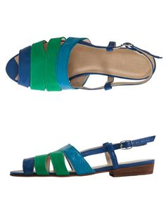 Leather Cut-Out Sling Back Sandal #AMERICANAPPAREL #PINATRIPWITHAA