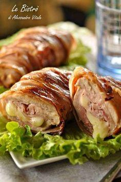 cosce-di-pollo-2 Meat Recipes, Chicken Recipes, Cooking Recipes, Pizza Recipes, Italian Chicken Dishes, Chicken And Chips, Pollo Chicken, Meat Steak, Good Food