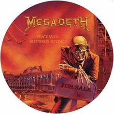 Megadeth - Peace Sells But Who's Buying, Blue