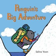 September 9, 2015. Penguin embarks on his next journey--becoming the first penguin to explore the North Pole! Along the way, he says hello to all of his old friends. But when he finally reaches his destination, he realizes he's all alone in a strange, foreign place. How will Penguin overcome his fears of the unknown and enjoy this new adventure?