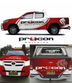 Designs | Create a presents of great jobs & people for Procon Building | Car, Truck or Van Wrap contest