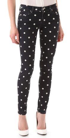 Polka Dot Verdugo Jeans | Paige Denim