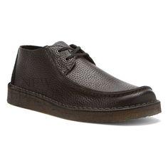 Clarks Originals Seam Trek Men's L Stitch Tumbled Leather Style 66288 Black
