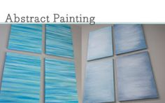 abstract paintings DIY