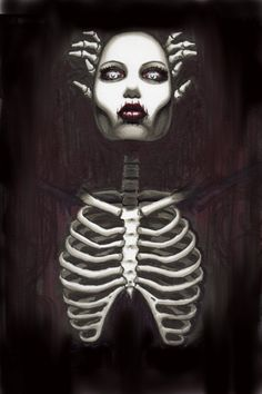 Gothic Horror Art archival photo print  by ShayneoftheDead on Etsy, $4.00