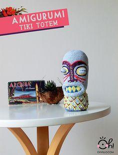 Ravelry: Totem Tiki amigurumi embroidery amigurumi pattern by Cristina Batista