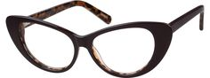 Order online, women brown full rim acetate/plastic cat-eye eyeglass frames model #4416215. Visit Zenni Optical today to browse our collection of glasses and sunglasses.