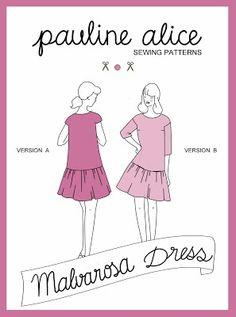 Malvarosa dress pattern | Supply | Patterns | Kollabora