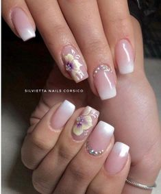 Beautiful and Stylish Flower Nail Designs for Spring ,Nail art is obtaining very stylish in beauty salons and it's thought of as fashion activity. Scroll right down to take a glance at this list of Pretty Flower Nail styles and follow fashion trend. These flower styles area unit thus cute and build an everyday manicure … … Continue reading →