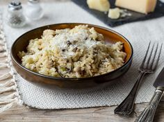 Pilz-Risotto mit Sellerie