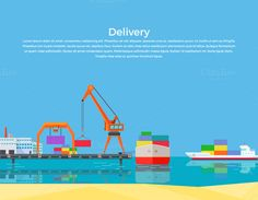 Cargo Ship Containers Shipping  @creativework247