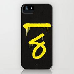 No. 7. Dead Man #Sherlock iPhone Case by F. C. Brooks