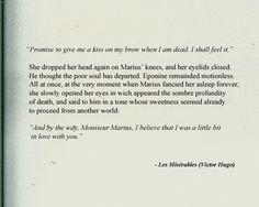 Eponine and Marius