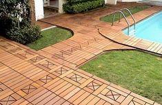22 Composite Flooring Ideas To Bring Contemporary Style Into Outdoor Rooms. Patio  TilesOutdoor ...