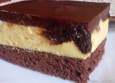 Wykwintne ciasto na biszkopcie
