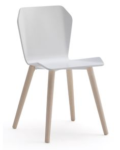 Sedia in legno disponibile nelle versioni monocromatica o bicolore. Adatta per uso residenziale o per il contract. ( Wooden chair available in monochrome or bicoloured. Suitable for residential or contract use. ) http://www.idfdesign.it/sedie-legno-plastica/live-wood.htm [ #design #designfurniture #chair #F2FormandFunction #strutturaLegno #woodenstructure ]