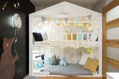 Pokój dla rodzeństwa. Powierzchnia 10,3 m2 – Biuro Projektowe – Dorota Szelągowska