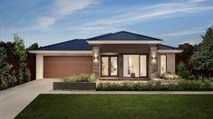 Проект жилого дома с партером, гаражом для одного автомобиля и летней террасой, Amberley-100395