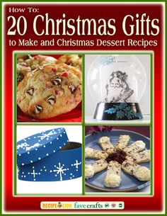 Get in the Christmas Spirit with New Free eBook from FaveCrafts & @RecipeLion