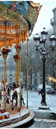Wintertime in Paris ~ Incredibly Beautiful.