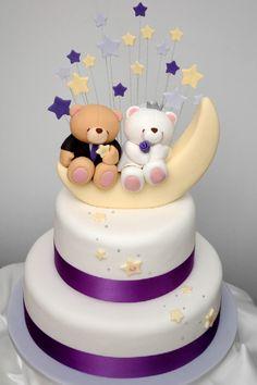 Forever Friends Bears wedding cake! Love it!!! #cake