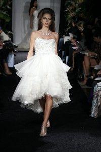 who doesnt love short wedding dresses?!