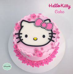 Torta Hello Kitty by Giovanna Carrillo
