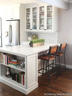 Remodeling your small kitchen shouldn't be a difficult task. When you put your small kitchen remodeling idea on paper, just remember your budget. Read on to find out some tips on redesigning our small…MoreMore #kitchenremodeling