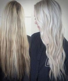 long wavy platinum blonde hair colors hairstyles 2 Blonde Hair Models, Platinum Blonde Hair Color, Hair Colors, Hairstyles, Haircuts, Hairdos, Hair Styles, Hair Color, Hair Looks