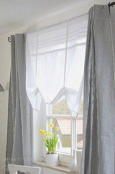AuBergewohnlich Details Zu MADAM WEISS Raffrollo 160x120cm Raffgardine Landhaus Shabby  Franske Country Neu