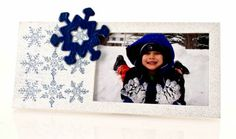 White Snowflake Frame ~ just add your imagination!