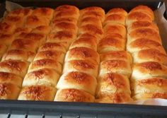Vajdasági sós | Darázsdi Éva receptje - Cookpad receptek Hot Dog Buns, Hot Dogs, Sos Recipe, Ciabatta, Bread Rolls, Sweets, Baking, Recipes, Food