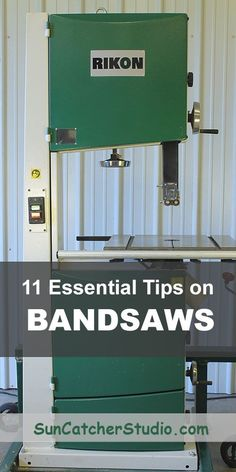 woodworking: Band saws - 11 Essential Bandsaw Tips You Need to .