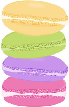 Stack of Macarons Ice Sandwich, Ice Cream Cookie Sandwich, Ice Cream Cookies, Fudge Pops, Cookie Images, Food Clipart, Logo Cookies, Free Printable Stickers, Candy Party