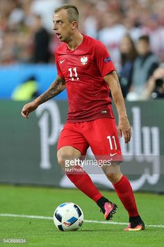 Kamil Grosicki (POL)during the Euro 2016 group C football match... #saintlouis: Kamil Grosicki (POL)during the Euro 2016 group… #saintlouis